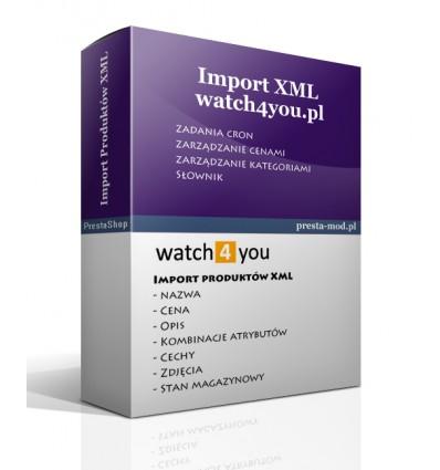 Import produktów www.watch4you.pl