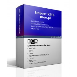 Import produktów - http://www.moe.pl - PrestaShop