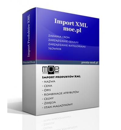 Import produktów www.moe.pl