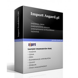 Import products - asgard.pl
