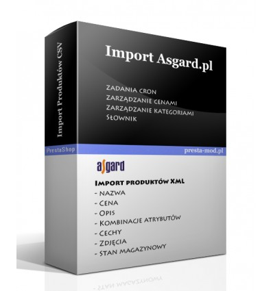 Import products moe.pl