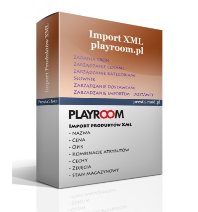 Import produktów www.playroom.pl