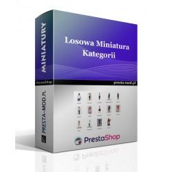 Moduł Losowa Miniatura Kategorii - PrestaShop