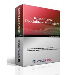Komentarze produktów multistore