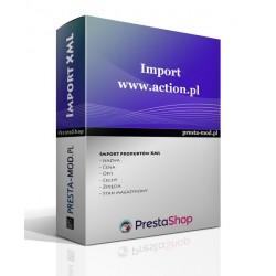 Import produktów action.pl