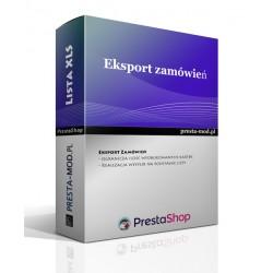 Wygodna lista zamówień XLS - PrestaShop