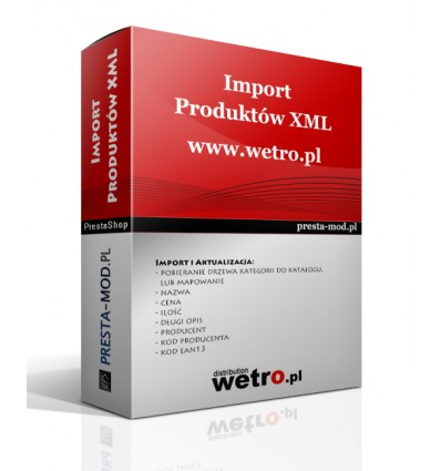 Import produktów XLS demidio.it - PrestaShop