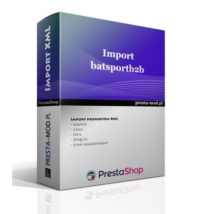 Import produktów batsportb2b.abstore.pl