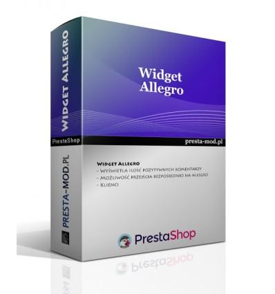 Wysuwany Widget Allegro - PrestaShop