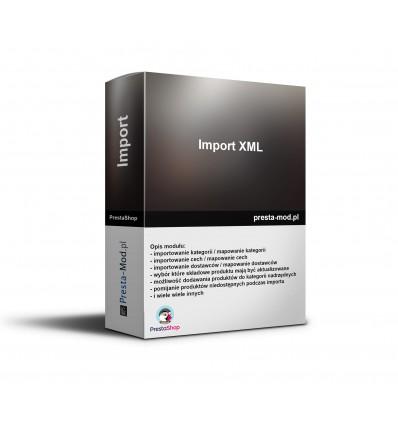 Import produktów XML - libragdynia