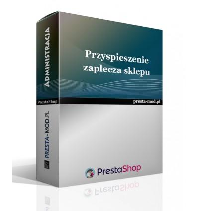 Długie ładowanie zaplecza - PrestaShop - moduł