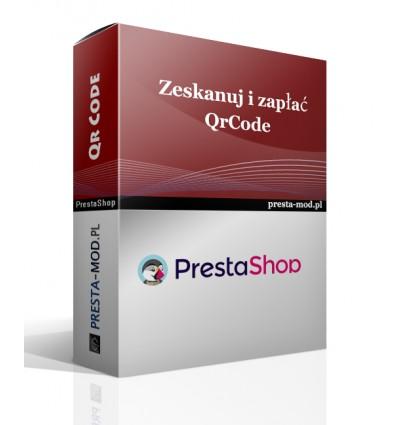 PrestaShop Zeskanuj i zapłać - Qr Code - Moduł