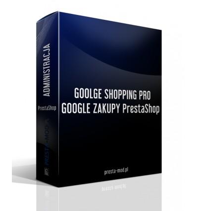 GOOLGE SHOPPING PRO / GOOGLE ZAKUPY PrestaShop