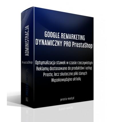 GOOGLE REMARKETING DYNAMICZNY PRO PrestaShop
