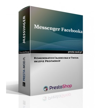 Komunikator Facebooka - PrestaShop