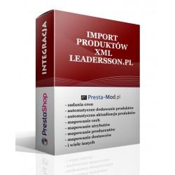 Import XML produkty leadersson.pl - PrestaShop
