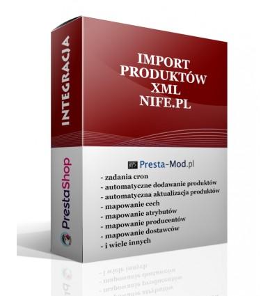 Import produktów XML - nife.pl - PrestaShop