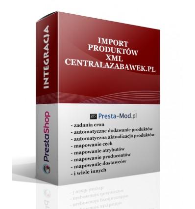 Import produktów XML - centralazabawek.pl - PrestaShop