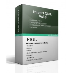 Import products XML - figl.pl