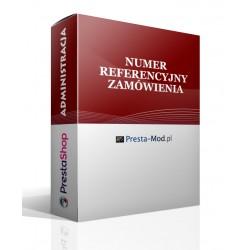 Referenční číslo smlouvy PrestaShop modulu