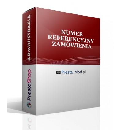 Numer referencyjny zamówienia - moduł PrestaShop