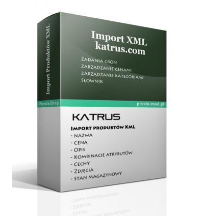 Import produktów PrestaShop XML Katrus
