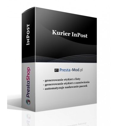 Module Inpost Courier Pro dla [PrestaShop 1.6], [PrestaShop 1.7]